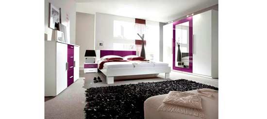 sypialnia vera bia�afiolet